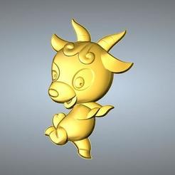 Free STL file QA TYPE ZODIAC PENDANT 8 SHEEP, 3D_Dragon