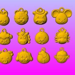 Modèle 3D gratuit Q1 TYPE 12 ZODIAC 2, 3D_Dragon