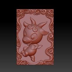 Download 3D printer model QB type Zodiac pendant 8 Sheep, 3D_Dragon