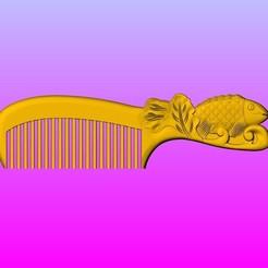 Download 3D printing designs Carp comb, 3D_Dragon