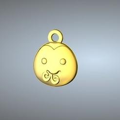 Free STL files Q1 type 06-Snake pendant, 3D_Dragon