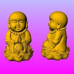 AS.jpg Télécharger fichier STL Moine à neuf anneaux • Plan pour imprimante 3D, 3D_Dragon