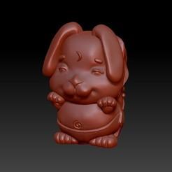 Download 3D print files Zodiac 3D Q version  4 Hare, 3D_Dragon