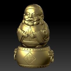 Y12.jpg Download STL file Happy Tim Shou Grandpa • Model to 3D print, 3D_Dragon