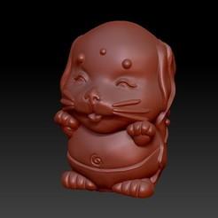 Download 3D print files Zodiac 3D Q version  11 Dog, 3D_Dragon