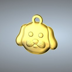 Télécharger fichier 3D Q1 type 11-Dog pendentif, 3D_Dragon
