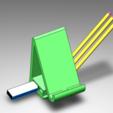 3D printer models Cel, office, cell holder, portausb, pen holder, enriquee_sifuentes