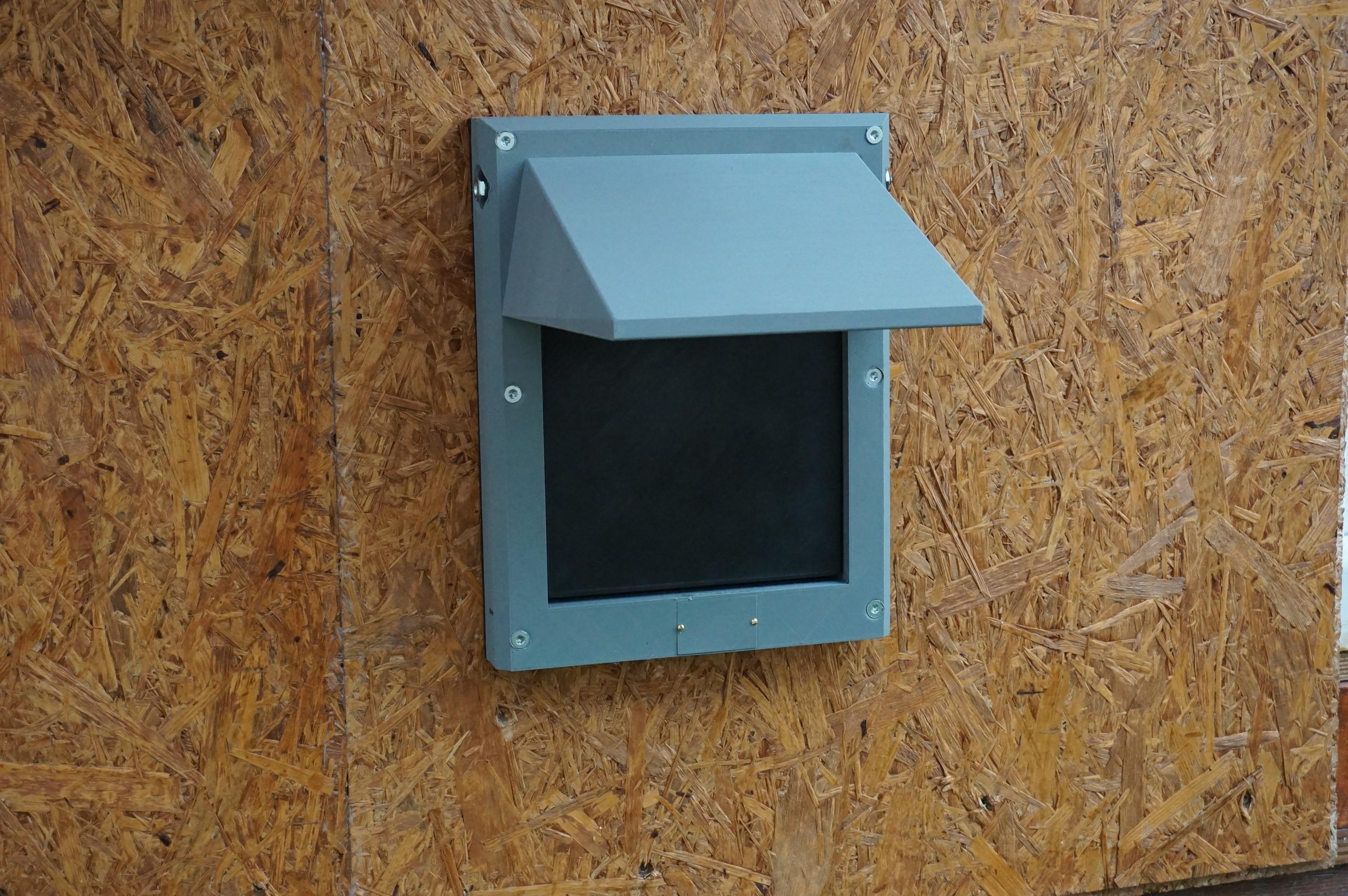 DSC05110.JPG Download free STL file Cat Flap Automatic Door • 3D printing model, Edd77