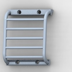Télécharger objet 3D RC 1/10 TRX4 Defender body protection phares, hdad