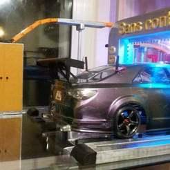 Télécharger plan imprimante 3D  RC 1/10 Station de lavage à jet d'eau automatique, hdad