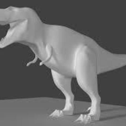 Descargar archivos 3D gratis dinosaurio t-rex, danielaguiar1213