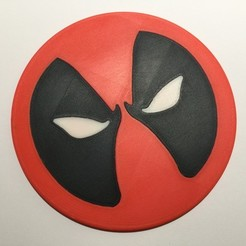 Download free STL file Deadpool plate • Template to 3D print, danielaguiar1213