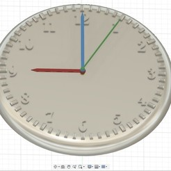 clock01.jpg Download free STL file 3D clock • 3D print object, murbay52