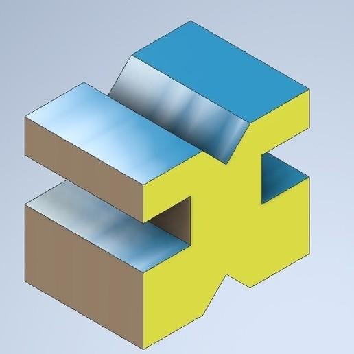 MODEL10.jpg Télécharger fichier STL gratuit Exemple de dessin technique 10 • Design imprimable en 3D, murbay52