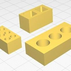 Tugla.jpg Télécharger fichier STL gratuit Modèle de brique (Tuğla maketi) • Modèle imprimable en 3D, murbay52