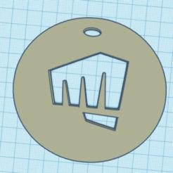 poin.PNG Télécharger fichier STL porte clef coup de poing • Modèle pour imprimante 3D, ludovic67