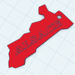 PortecleeAlsace.PNG Download STL file Alsace, key ring • Template to 3D print, ludovic67