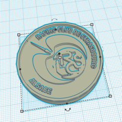 rcs.PNG Download STL file RCS logo • 3D printing object, ludovic67