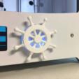 Download free 3D printer templates Ship's Wheel Ultimaker 2 Knob, yyh1002