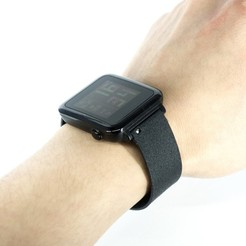 Free stl files Customizable One-piece Watch Band, yyh1002