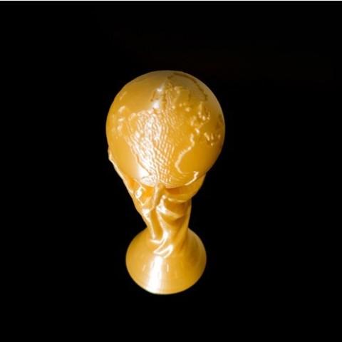 3D printed World Cup Replica Solid 3D model STL file2.jpg Download free STL file World Cup Replica Solid • 3D printable model, HeyVye