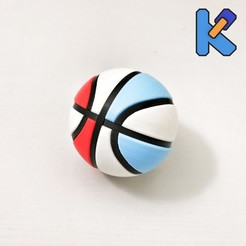 IMG_20200815_211245-01K.jpg Download free STL file Basketball K-Pin Puzzle • 3D printing model, HeyVye