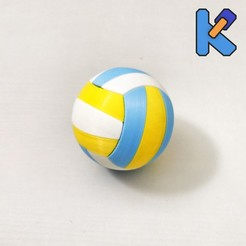 IMG_20200815_205013-01K.jpg Download free STL file Volleyball K-Pin Puzzle • 3D print object, HeyVye