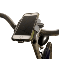 Free STL Customizable Bike Mount for Modular Mounting System, yyh1002