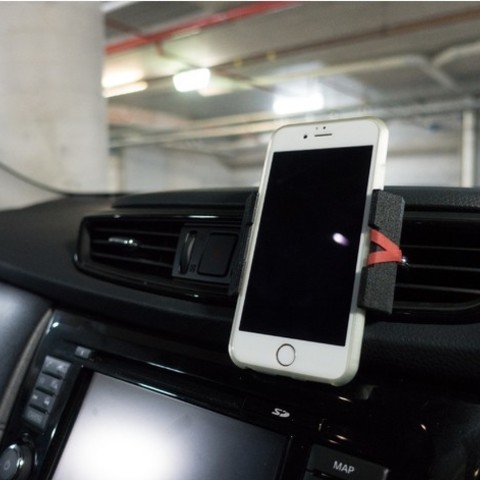 Free 3d printer designs Phone Mount for Car Vent, yyh1002
