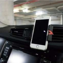 Download free 3D printing designs Phone Mount for Car Vent, yyh1002