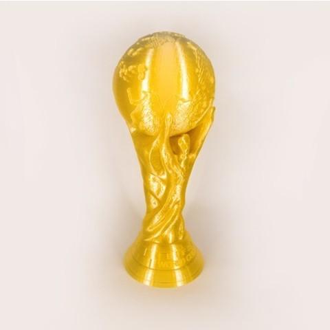 3D printed World Cup Replica Solid 3D model STL file3.jpg Download free STL file World Cup Replica Solid • 3D printable model, HeyVye