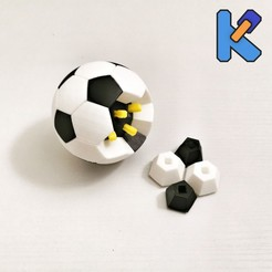 IMG_20200815_212728-01K.jpg Download free STL file Soccer K-Pin Puzzle • 3D printer object, HeyVye