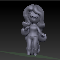 2018-11-05 (9).png Download STL file small marceline • 3D printable template, jos_ang