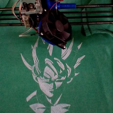 Download free 3D printer model GOKU, jos_ang