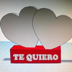 WhatsApp_Image_2018-12-22_at_01.17.15.jpeg Download free STL file Pedestal corazones Te quiero • 3D print model, Neogames76