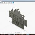 Télécharger fichier STL gratuit Logo de Fortnite Espagne, Neogames76