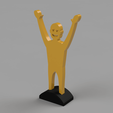 Download free 3D printing templates Office trophy, radpl