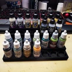 Download STL file Paint rack set for model paint (8 different) • 3D print design, Modelstuff