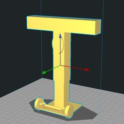 container-stand-cura.jpg Télécharger fichier STL Cric de remorque 1:87 H0 • Objet pour impression 3D, Modelstuff