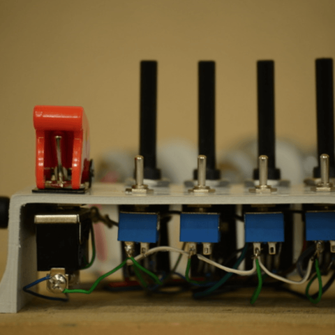 Capture d'écran 2018-03-29 à 12.40.08.png Download free STL file Four Motor Laser Spirograph DIY • 3D printing object, simiboy