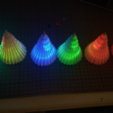 Free stl files Lighting Christmas Tree RGB LED - auto change color - button cell - DIY, simiboy