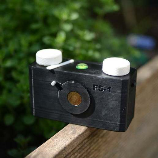 Download free STL files 3D printed pinhole camera, simiboy