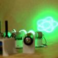 Download free STL Four Motor Laser Spirograph DIY, simiboy