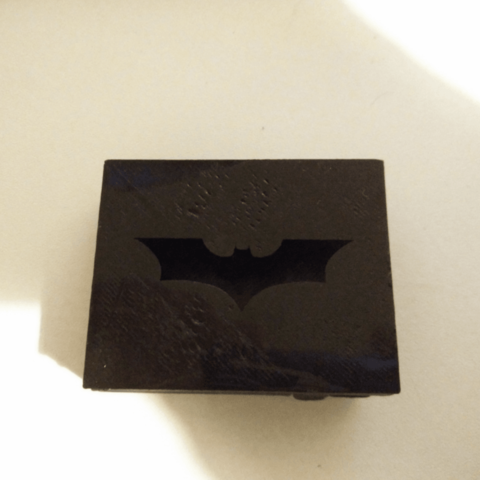 Download free 3D printing files Belt buckle - Batman style, simiboy