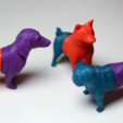 Capture d'écran 2018-03-29 à 11.56.12.png Download free STL file Mixable dog models - Puzzle game • Design to 3D print, simiboy