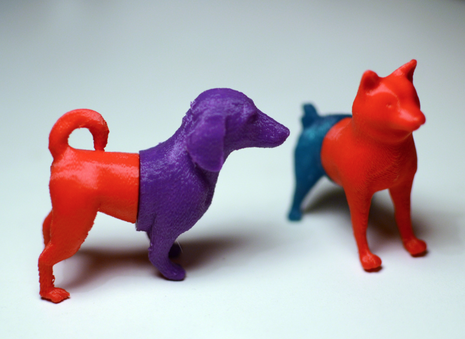 Capture d'écran 2018-03-29 à 11.56.34.png Download free STL file Mixable dog models - Puzzle game • Design to 3D print, simiboy