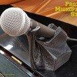 Descargar archivos STL gratis Soporte de micrófono Proteus, ProteanMan