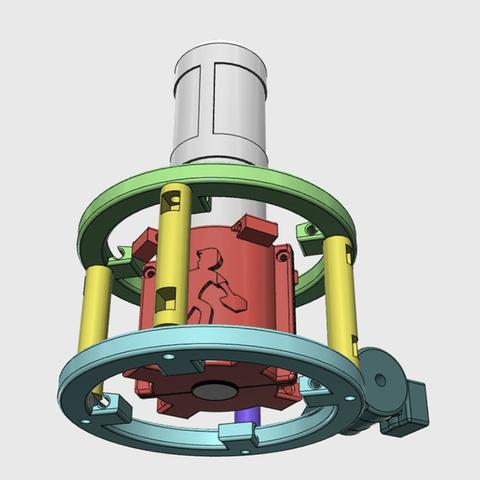 Capture d'écran 2018-04-16 à 15.07.43.png Download free STL file MXL 4000 Shock Mount (Custom) • 3D printer object, ProteanMan