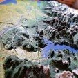 Free 3D print files Vancouver - British Columbia - 3D Map - Topographic, ProteanMan