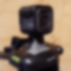 Free STL files GoPro Tripod Mount (Targus), ProteanMan